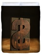 The Almighty Dollar Duvet Cover by Edward Fielding