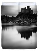 The Almourol Castle Duvet Cover by Jorge Maia