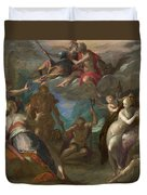 The Amazement Of The Gods Duvet Cover