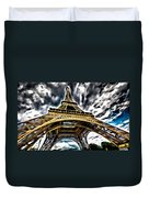 The Amazing Eiffel Duvet Cover