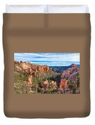 The Amphitheater At Farview Point Duvet Cover