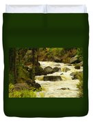 The Amsden River Wyoming Duvet Cover