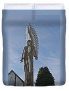 The Angel Of Bargoed 2 Duvet Cover