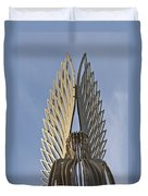 The Angel Of Bargoed 4 Duvet Cover