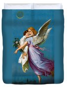 The Angel Of Peace Duvet Cover by B T Babbitt