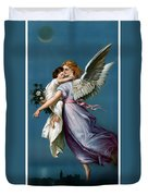 The Angel Of Peace Duvet Cover