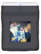 The Angels Of Nothing Duvet Cover