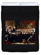 The Anti-slavery Society Convention 1840 Duvet Cover
