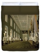 The Antiquities Gallery Of The Academy Of Fine Arts, 1836 Oil On Canvas Duvet Cover