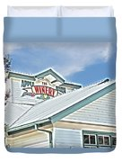 The Apple Barn Winery Pigeon Forge Tn Duvet Cover
