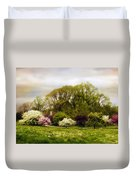 The Apple Orchard Duvet Cover