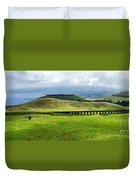 The Aqueduct Panoramic Duvet Cover