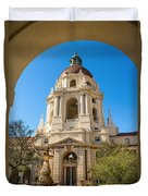 The Arch - Pasadena City Hall. Duvet Cover