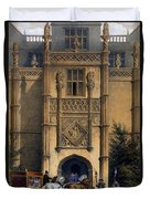 The Arch, Montacute House, Somerset Duvet Cover