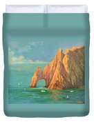 The Arch Of Cabo San Lucas 2 Duvet Cover