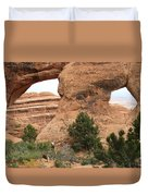 The Arches Of Double O Arch  Duvet Cover