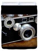 The Argus C3 Lunchbox Camera Duvet Cover