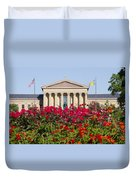 The Art Museum In Summer Duvet Cover