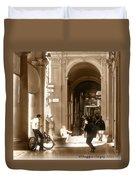 The Art Of Love Italian Style Duvet Cover