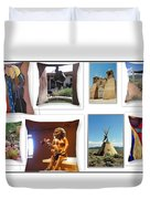 The Art Of New Mexico Duvet Cover