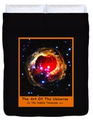 The Art Of The Universe 323 Duvet Cover