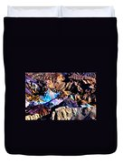 The Artists Palette Death Valley Duvet Cover