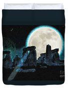 The Astronomers Circle Duvet Cover
