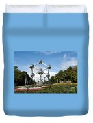 The Atomium Duvet Cover