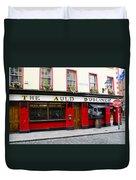 The Auld Dubliner  Duvet Cover