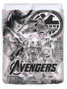 The Avengers Duvet Cover