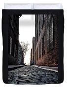 The Back Alley Duvet Cover