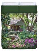 The Back Porch Duvet Cover