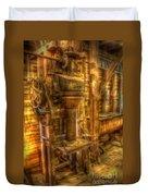 The Bagging Machine Duvet Cover