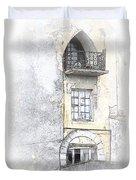 The Balcony Scene II Duvet Cover