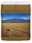 The Bale - Sandia Mountains - Albuquerque Duvet Cover
