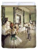 The Ballet Class Duvet Cover