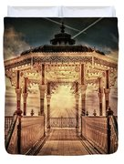 The Bandstand Duvet Cover