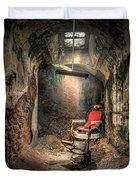 The Barber's Chair -the Demon Barber Duvet Cover