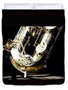 The Baritone Saxophone  Duvet Cover
