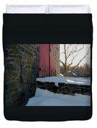 The Barn Doors Duvet Cover