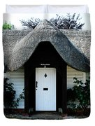 The Barn House Door Nether Wallop Duvet Cover