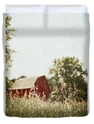 The Barn In The Distance Duvet Cover