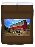 The Barnyard Duvet Cover