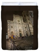The Basilica Di Santa Maria Del Fiore  Duvet Cover