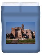 The Basilica Of Constantine Duvet Cover