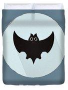 The Bat Cute Portrait Duvet Cover