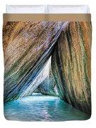 The Baths Virgin Gorda British Virgin Islands Duvet Cover