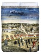 The Battle Of Concord, 1775 Duvet Cover