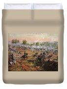 The Battle Of Gettysburg, July 1st-3rd Duvet Cover