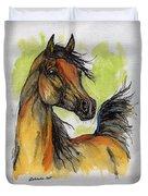 The Bay Arabian Horse 5 Duvet Cover